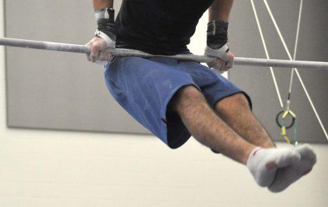 Boys Gymnastics Practice. Photo by Vicky Robles