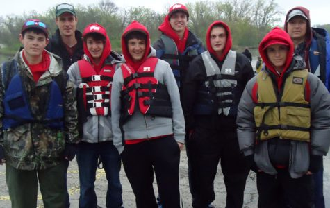 The Niles West Bass Fishing Team. Photo courtesy of Tim Richmond