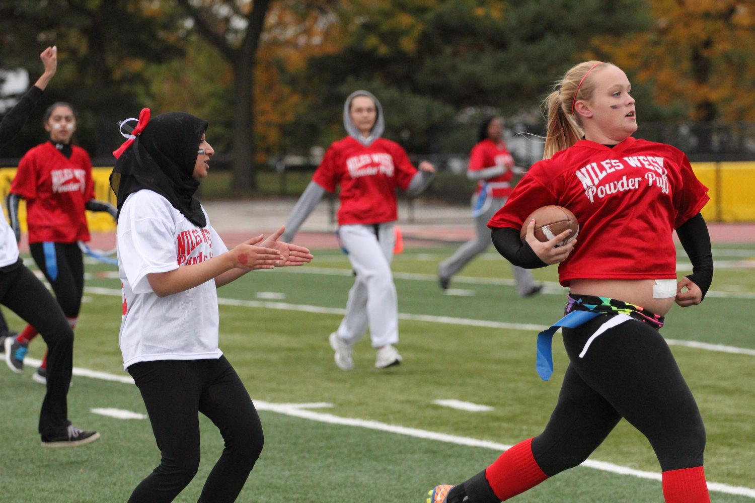 Niles West's Annual Powder Puff Game to Take Place
