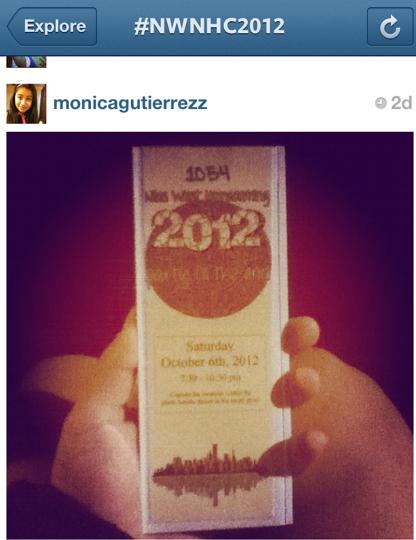Instagram User monicagutierrezz submits a photo to #nwnhc2012 .