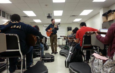 Guitar Class Strikes a Chord