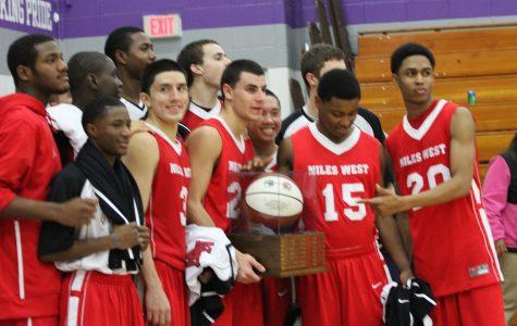 Victory Six Years Strong: Boys' Basketball Beats North