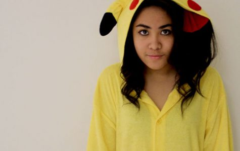 The Girl Behind the Pikachu Suit