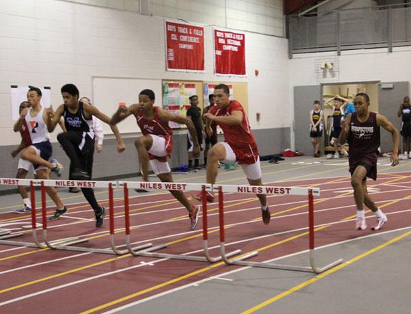 Leaders of the Pack: Varsity Track Jump Starts Its Season