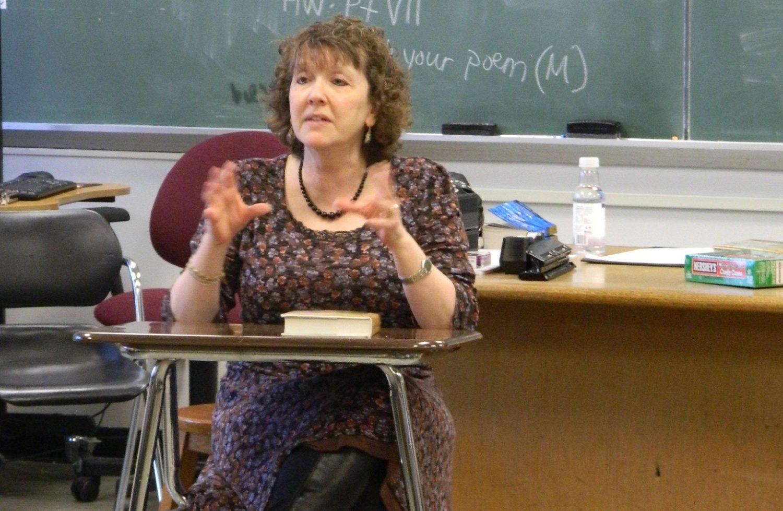 Author Nancy Grossman Visits West