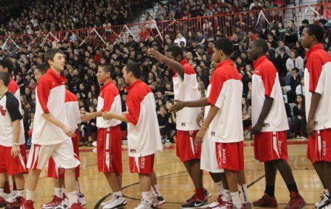Boys' Varsity Basketball Team Beats-Down E-Town