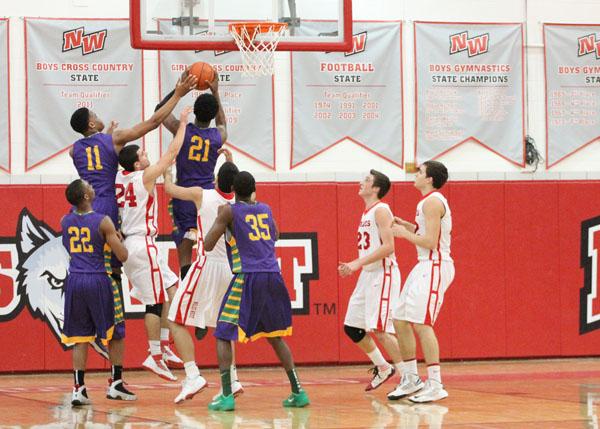 Boys' Varsity Basketball Team: Men of