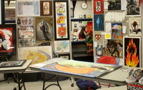 AP Art Show Displays Students' Talents