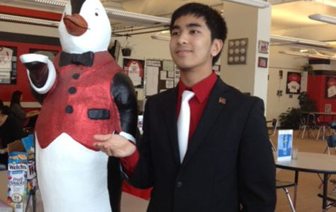 Meet Chester, the Literacy Center Penguin