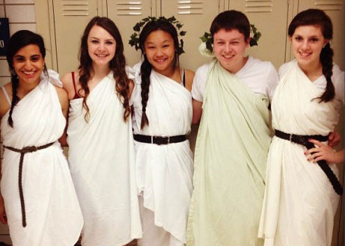 Toga Tuesday Forced to Unwrap