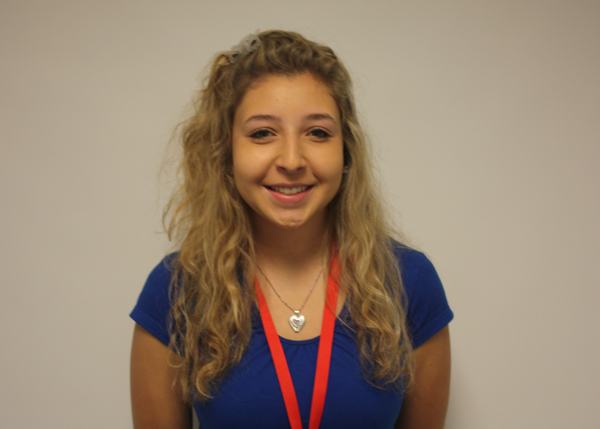 Senior Ally Daskalopoulos on senior year.