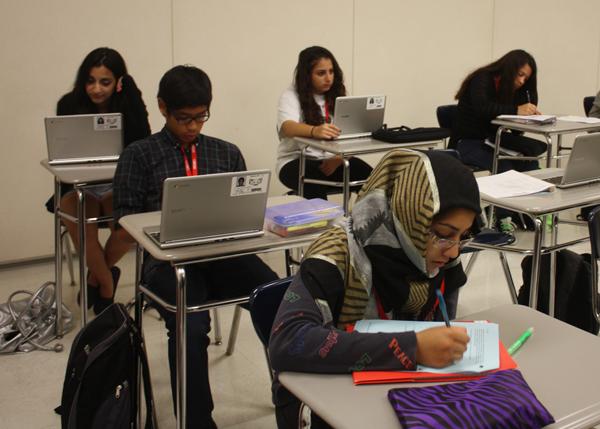 High School vs. Middle School According to Freshmen