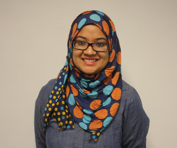 Senior Fatima Fahra on college.