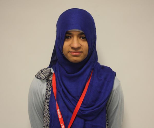 Senior Hafsa Wahid talks about being a Pakistani-American.