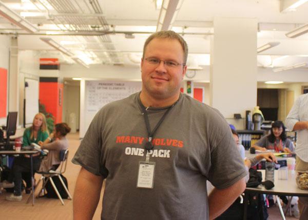 John Przekota: The New Face of the Lit Center