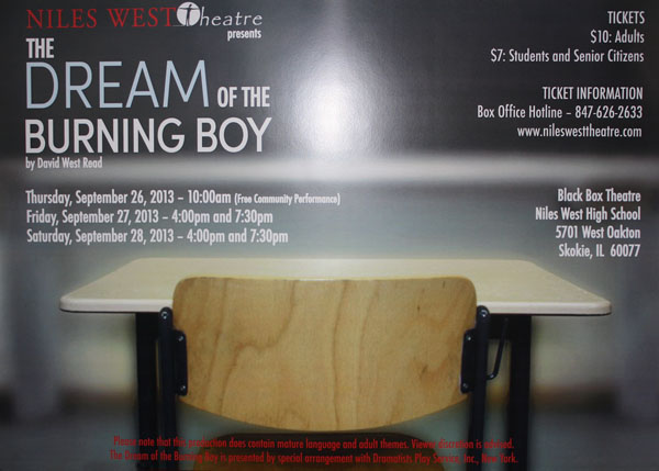 NWTheatre to Perform The Dream of the Burning Boy