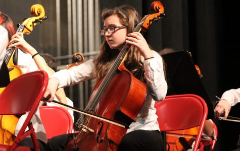 Middle School Orchestras Experience the U of I Orchestra Clinic