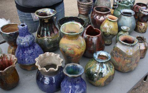 Ceramics Students Experience Raku Pottery