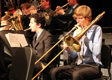 Band Hits The Stage Tuesday For Annual Holiday Concert