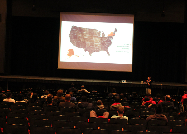 Climate Change Presentations Held Today