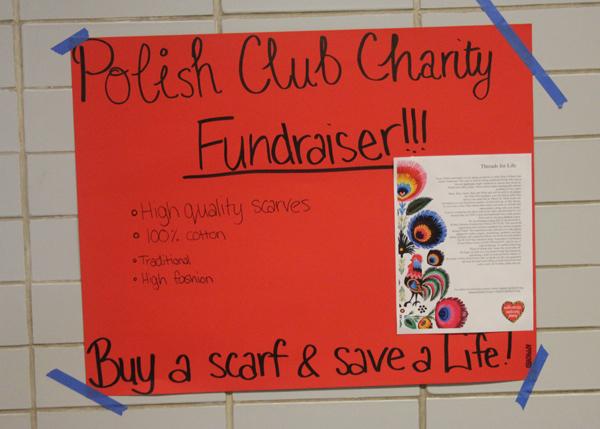 Polish Club Scarf Fundraiser