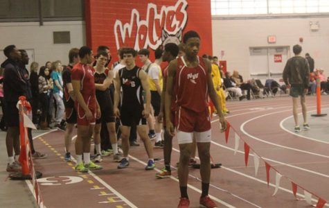 Seniors Place First in Boys' Track CSL Invite