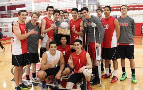 Boys Volleyball Beats North