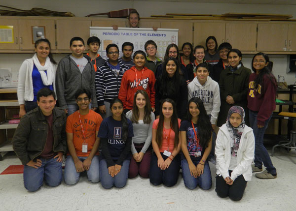 Science Students Compete in Science Olympia