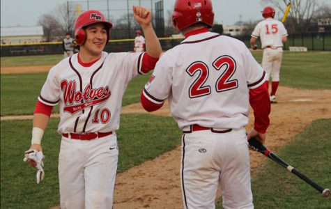Wolves Fall to Vikings on the Diamond