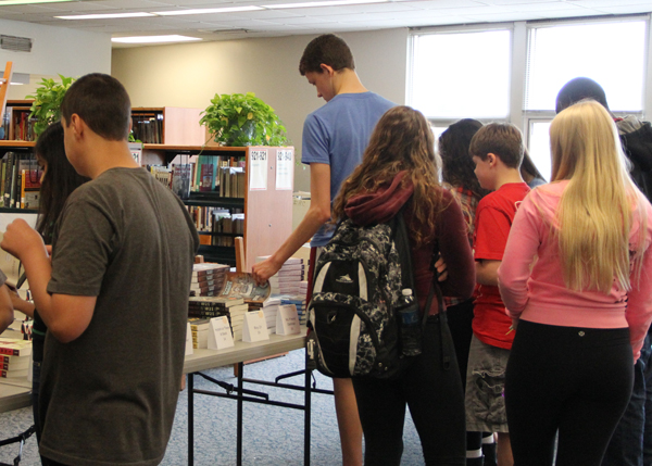 Freshman Break For Books to Be Held Today