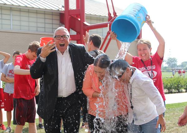 Video: West English Teachers Take on the ALS Ice Bucket Challege