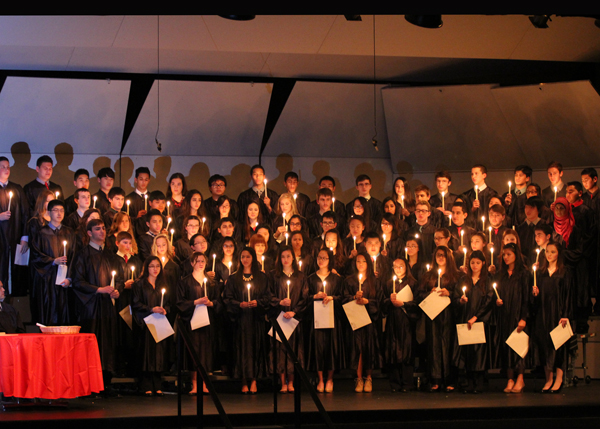 78 Seniors Inducted into National Honor Society