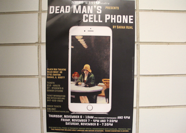 Dead Man's Cell Phone in Production Starting Tomorrow