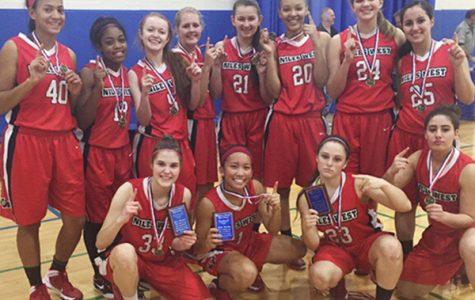 Girls Varsity Basketball Team wins Hoffman Estates Tournament