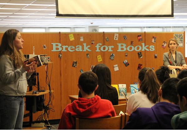 Break for Books Held Today in IRC