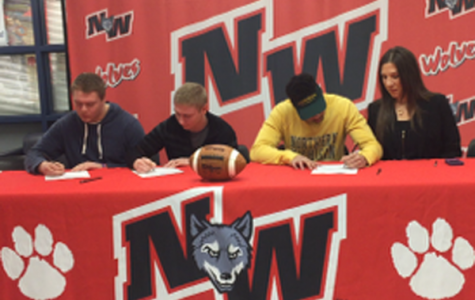 Boys Football Players Commit to Play in College