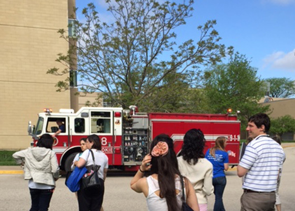 Breaking News: Engineering Project Triggers Fire Alarm During Late Arrival
