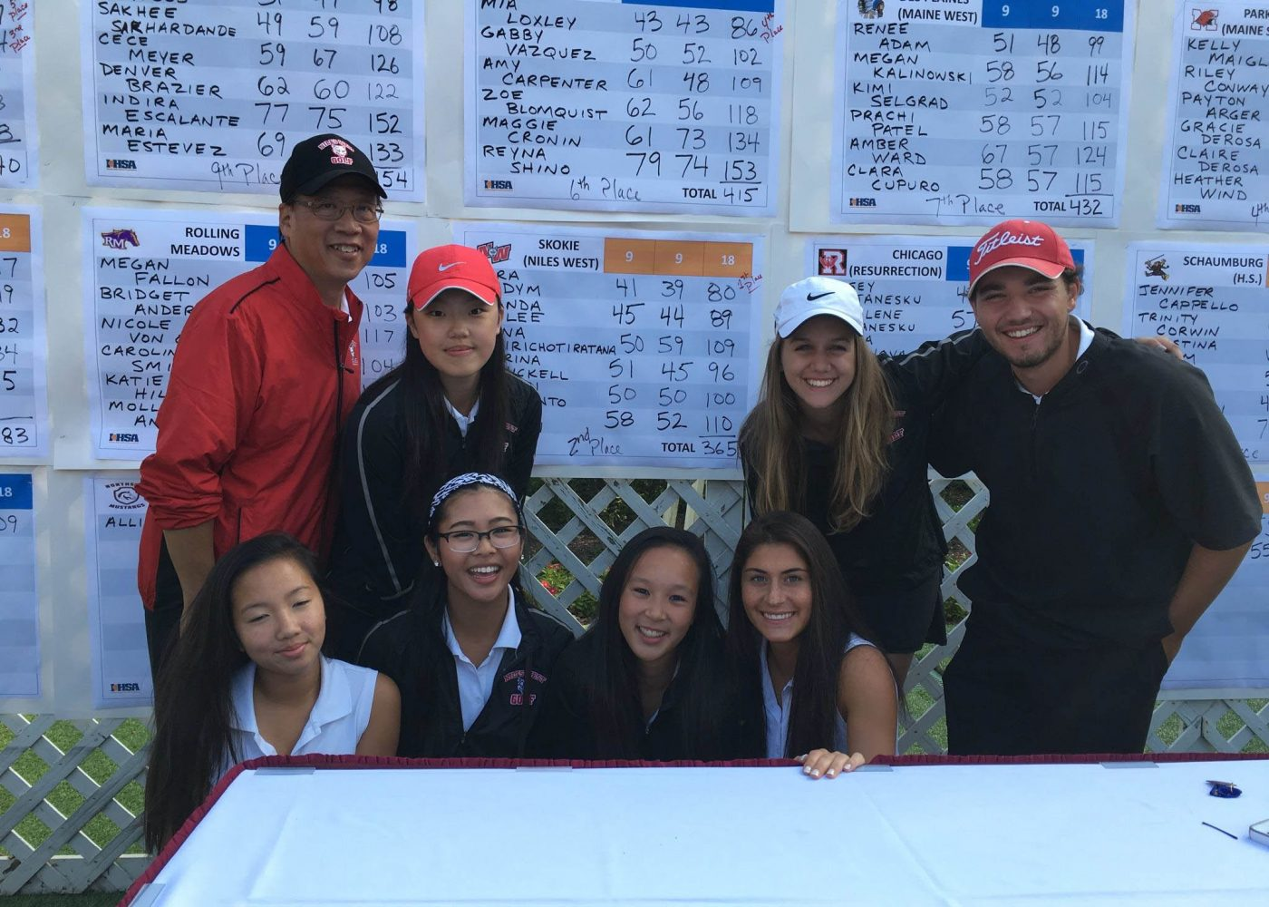 Niles+West+Golf+Advances+to+Sectionals