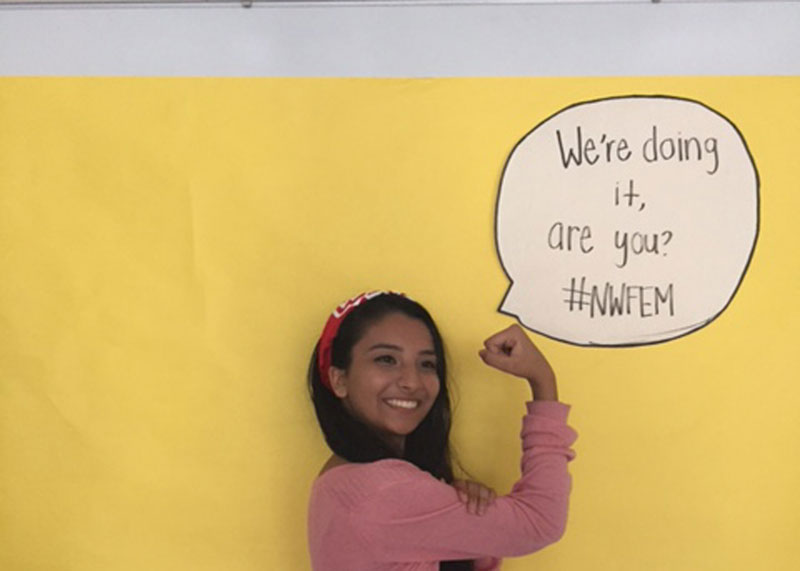 Clubs Goin' Up at West: Feminist Club