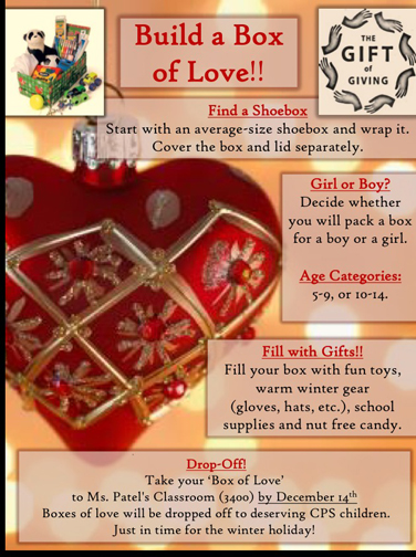Build a Love Box: A Way to Give Back for the Holidays