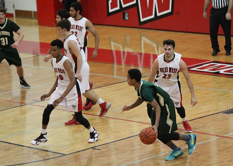 Boys Varsity Basketball: West vs St. Patricks