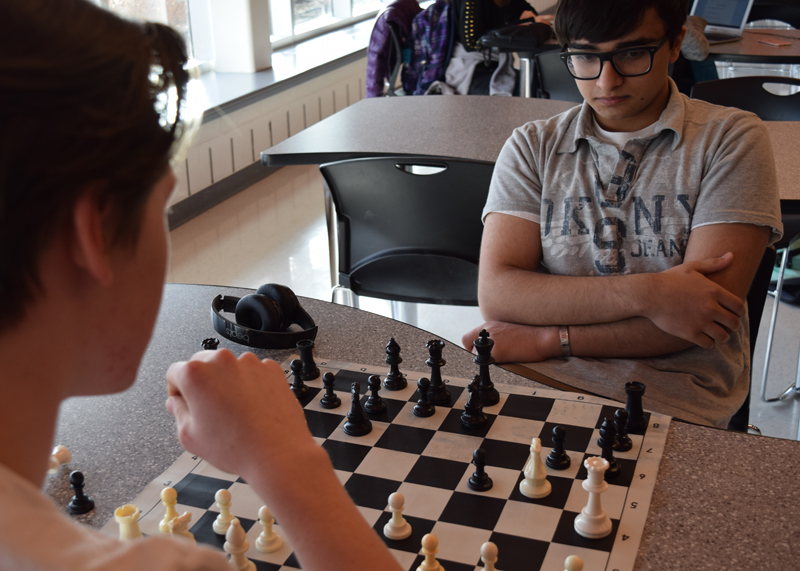 Niles West's chess team places 60th at the Illinois High School Association (IHSA) state chess tournament.