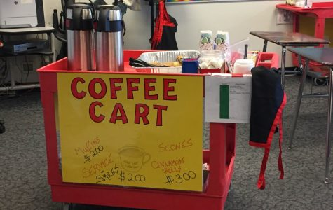 Special Ed Students Run Coffee Cart for Teachers