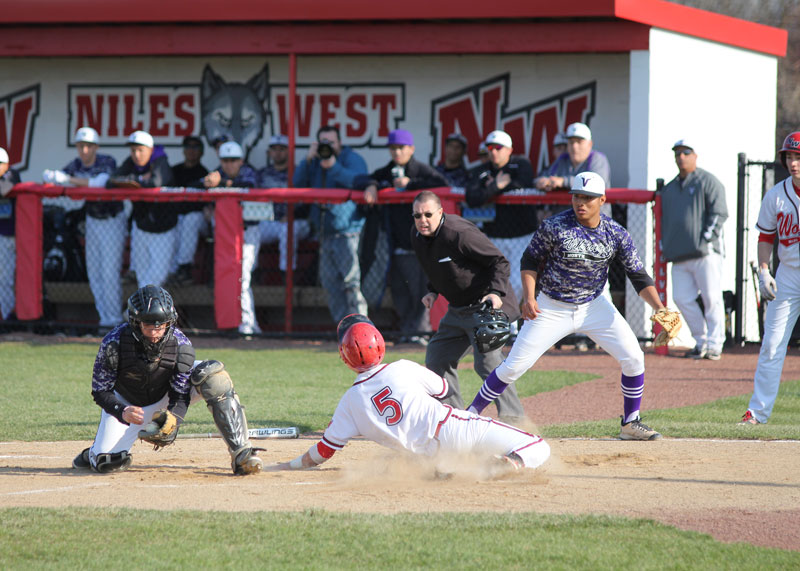 Boys Baseball: West vs North