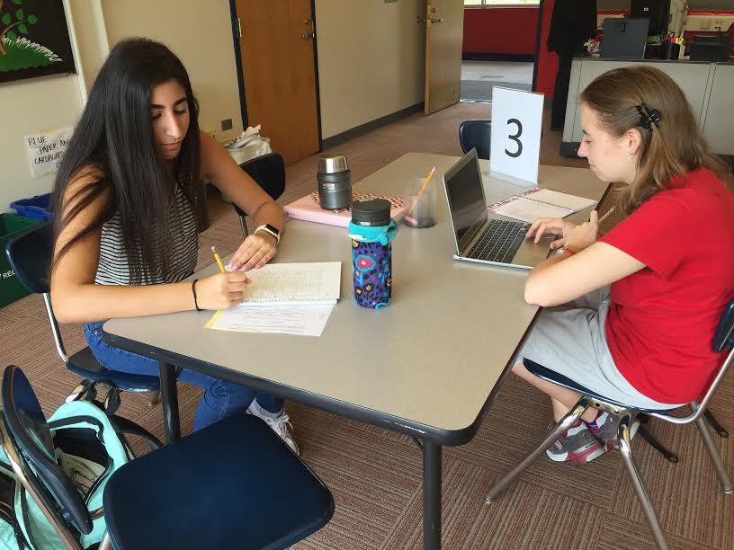 Seniors Meet with Counselors to Discuss Post-High School Plans