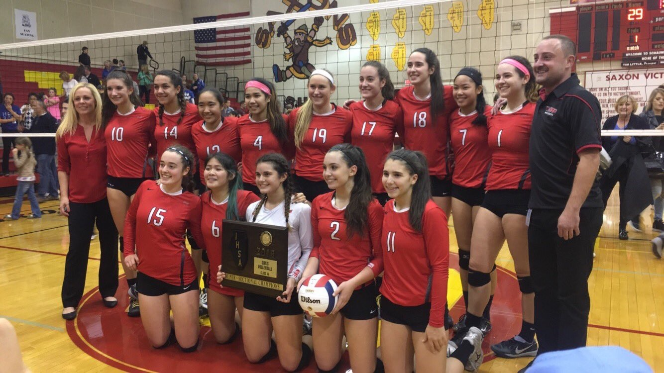 Girls+Varsity+Volleyball+to+Compete+at+State+after+Winning+Super-Sectionals