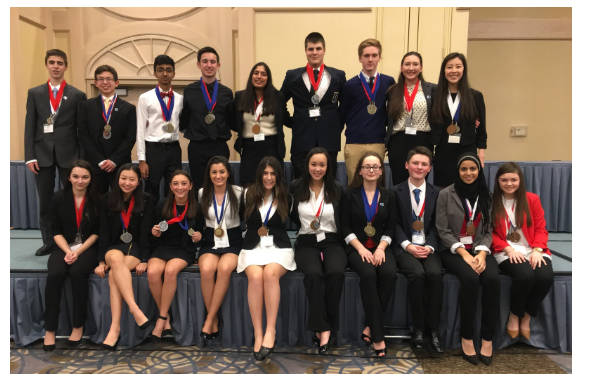 DECA Wins More Than 60 Awards at Regionals
