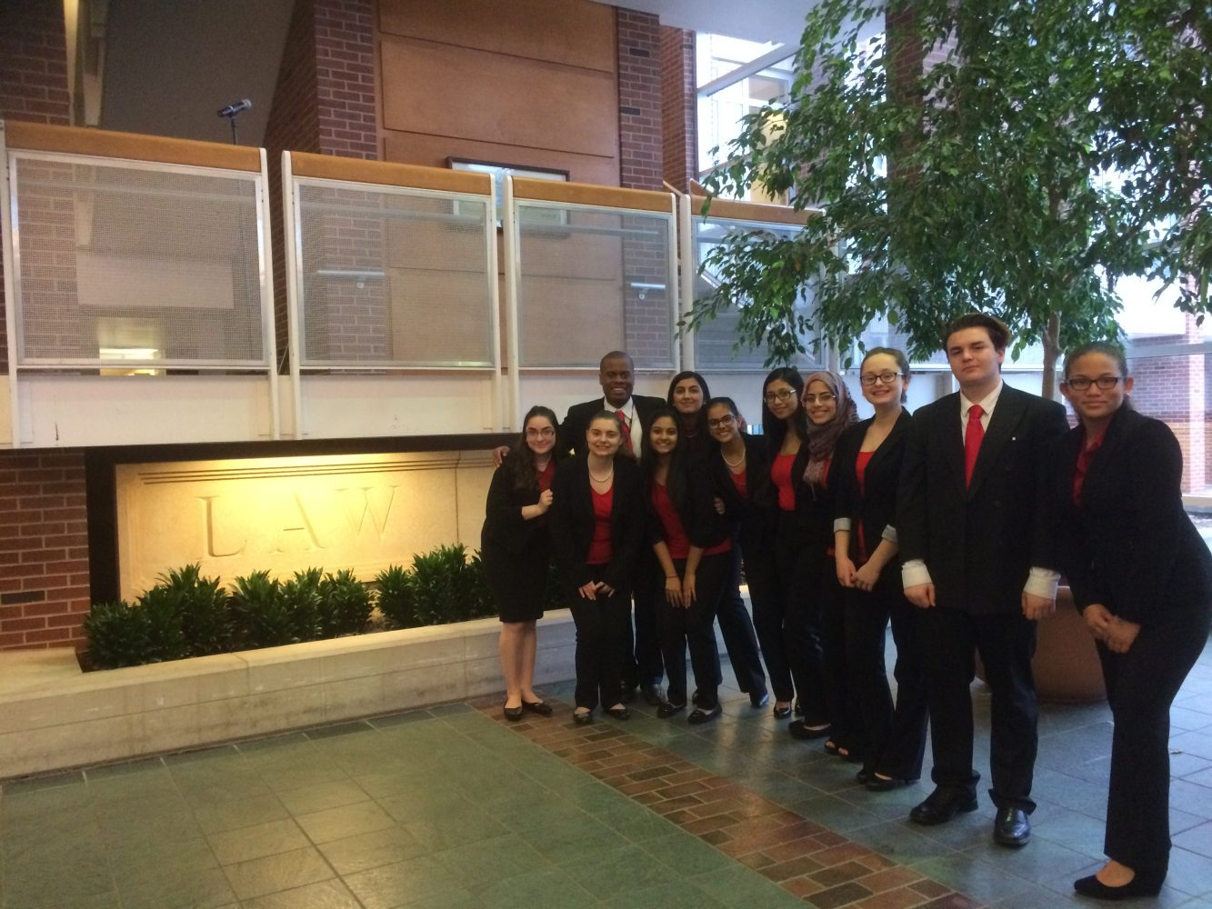 Niles West Mock Trial Team Places Top 8 at State