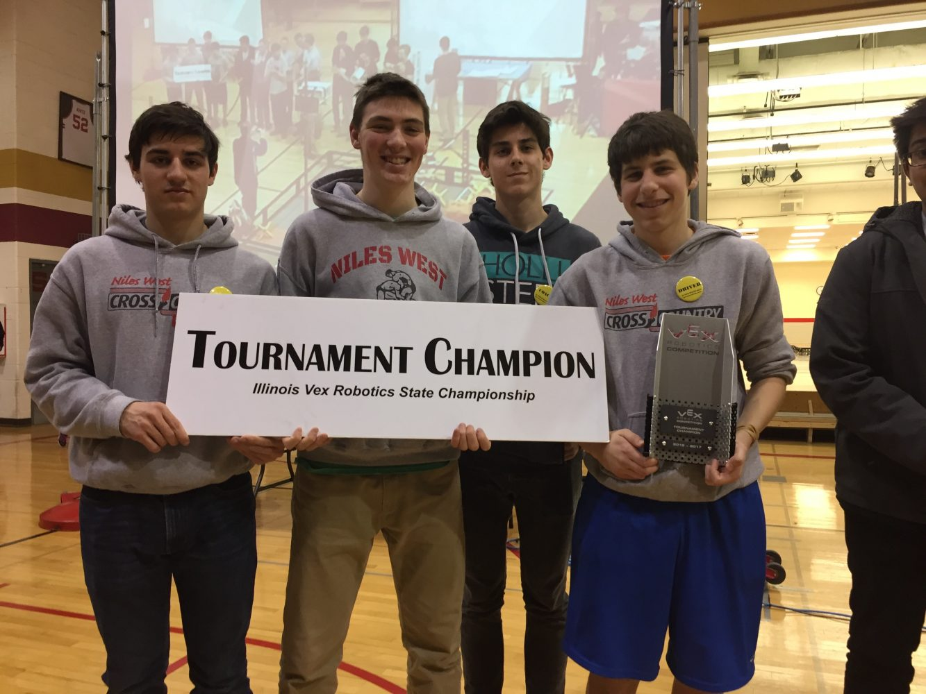 D219+Robotics+Teams+Advance+To+World+Competition+After+Earning+State+Title