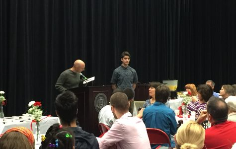 Principal's Recognition Breakfast Held This Morning